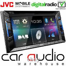 JVC KW-V235DBT 6.2 Double Din DVD MP3 USB AUX DAB Radio & Bluetooth Car Player
