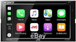 JVC KW-V840BT Double DIN DVD/CD Touchscreen GPS/ Bluetooth/Car Play Car Stereo
