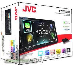 JVC KW-V850BT DVD/CD Touchscreen GPS/ Bluetooth / SiriusXM /Car Play Car Stereo