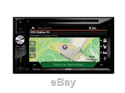 Jensen VX7023 6.2 Double-Din Navigation DVD/CD/MP3 Car Stereo Receiver +AUX/USB