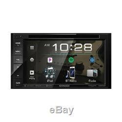 Kenwood DDX276BT 2-DIN 6.2 Touchscreen Bluetooth Car Stereo DVD Player Receiver