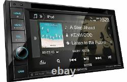 Kenwood DDX376BT 6.2 Bluetooth DVD Receiver with Touchscreen Display Car Stereo