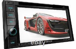 Kenwood DDX376BT 6.2 in-Dash Car DVD Monitor Bluetooth Receiver
