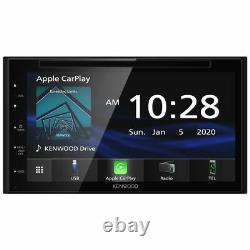 Kenwood DDX5707S Double DIN 6.8 Touchscreen In-Dash DVD/CD Car Stereo Receiver