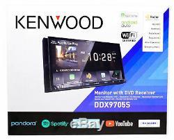 Kenwood DDX9705S 6.95 Navigation GPS DVD Bluetooth Receiver Car Play/Weblink