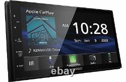 Kenwood DMX4707S Digital Multimedia Receiver withCarPlay & Android Auto Car Stereo