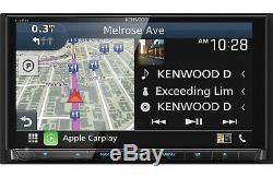 Kenwood DNX995S eXcelon DVD/CD Apple Carplay Android Auto Car 2-DIN NAV SAVE