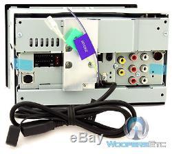 Kenwood Ddx24bt 6.2 Tv CD DVD Usb Bluetooth Touchscreen Iphone Car Stereo New