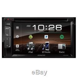 Kenwood Ddx25bt 6.2 DVD Bluetooth Double Din Touchscreen Car Stereo Receiver