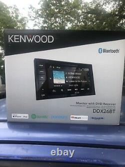 Kenwood Ddx26bt 6.2 Double 2din Touchscreen Car Stereo Mp3 DVD Bluetooth Stereo