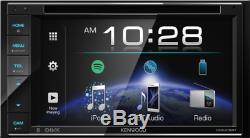 Kenwood Ddx419bt 6.2 DVD Bluetooth Double Din Touchscreen Car Stereo Receiver