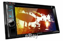 Kenwood Ddx6703s In-dash 2-din 6.2 Tv CD DVD Bluetooth Hd Radio Pandora Stereo
