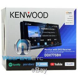 Kenwood Ddx775bh 6.95 CD DVD Bluetooth Usb Waze Youtube Sirius Hd Radio Stereo