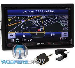 Kenwood Dnx773s In-dash 2-din 6.95 Tv CD DVD Gps Bluetooth Navigation Hd Radio