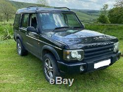 Landrover Discovery 2 TD5 Galvanised Chassis ££££'s spent