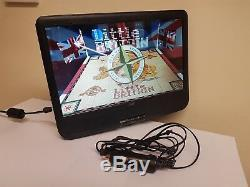 Logik 9 12v Portable In-Car Rechargeable DVD Player+Swivel Screen+ Car charger