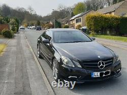 Mercedes E350 cdi amg coupe