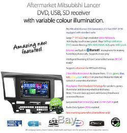 Mitsubishi Lancer Car DVD Player Stereo Radio MP3 MP4 Head Unit CD ISO Kit CJ 2G