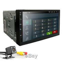 NEW 2din 7 Android 8.1 Car GPS Stereo Radio DAB+ TV NO DVD WIFi-4G BT+camera