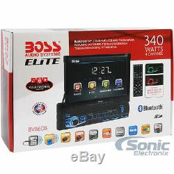 NEW Boss Elite BV860B Single DIN Bluetooth DVD Car Stereo Radio 7 TouchScreen