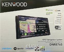 NEW Kenwood DNR876S, 6.95 WVGA Navigation Media Car Receiver, Garmin Navigation