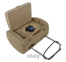 New Rockville RDP931-BG 9 Beige Car DVD/USB/HDMI Headrest Monitors+Video Games