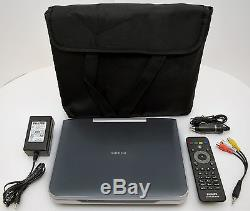 Philips PB9001/37 9 Grey Portable Blu-ray DVD Player Full HD USB-ready car inch