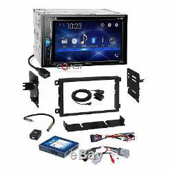 Pioneer 2018 DVD BT Stereo Dash Kit Onstar Bose Harness for 2000+ GM Chevrolet