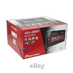 Pioneer 2018 DVD Bluetooth Stereo Dash Kit Harness for 1992+ Chevy GMC Pontiac