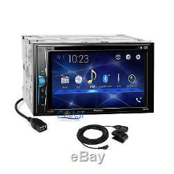 Pioneer 2018 DVD USB Bluetooth Dash Kit Bose Onstar Harness for GM Chevrolet