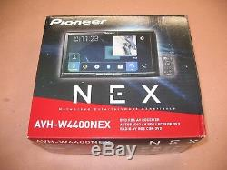 Pioneer 7 DVD CD Bluetooth Android Auto Apple Car Play AVH-4400NEX Free Camera