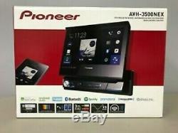 Pioneer AVH3500NEX 7 1 DIN Flip-out Bluetooth DVD/CD/AM/FM Car Stereo AVH-3500
