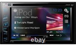 Pioneer AVH-190DVD 6.2 Double Din DVD AV Screen iPod iPhone Car Stereo Player