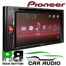 Pioneer AVH-A200BT 6.2 Double Din Screen CD DVD MP3 Bluetooth Car Stereo Player