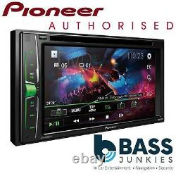 Pioneer AVH-A210BT 6.2 Double Din Bluetooth DVD Screen iPhone Car Stereo Player