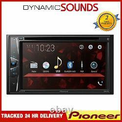 Pioneer AVH-G220BT Double DIN 6.2 Touchscreen In Car CD/DVD Player Tuner