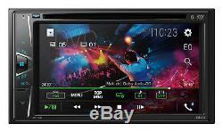Pioneer Avh-110bt Car Double Din 6.2 Touchscreen Usb DVD CD Bluetooth Stereo