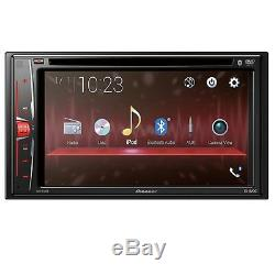 Pioneer Avh-210ex 6.2 Double Din Touchscreen Car Stereo DVD Bluetooth Stereo