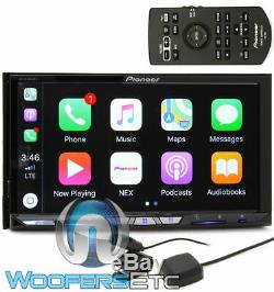 Pioneer Avh-w4400nex 7 Touchscreen CD DVD Bluetooth Usb Hd Radio Car Play New