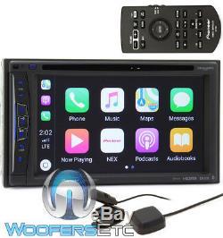 Pioneer Avic-w6400nex 6.2 CD DVD Bluetooth Hd Radio Navigation Apple Car Play