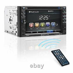 Planet Audio P9640B Double DIN Bluetooth DVD 6.2 Inch Touchscreen Car Stereo