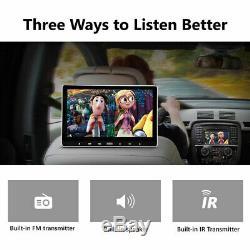 Portable Slim 11.6 IPS HD Screen Car Headrest TV Monitor DVD/USB/SD/HDMI Player