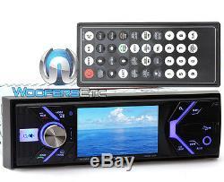 Power Acoustik Pd348b 3.4 CD DVD Bluetooth Mp3 Usb Sd 300w Amplifier Car Stereo