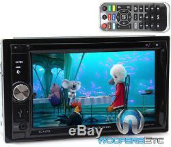 Power Acoustik Pd-625b 6.2 CD DVD Usb Bluetooth Detachable Face 300w Car Stereo
