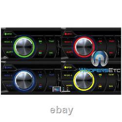 Power Acoustik Pd. 724b 7 CD DVD Bluetooth Usb Aux Touchscreen Stereo Radio New