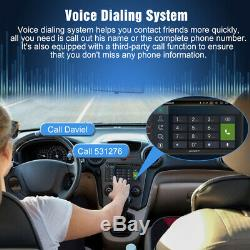 Pumpkin 7 Android 9.0 Double DIN Car Stereo GPS DAB+ Bluetooth WiFi OBD2+Camera