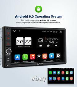 Pumpkin Android 10.0 Double Din Car Stereo Head Unit Bluetooth GPS DAB OBD2 WIFI