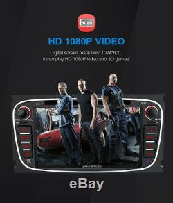 Pumpkin Android 9.0 Car Stereo DVD GPS WiFi 4GB+32GB For Ford Focus Mondeo S-max