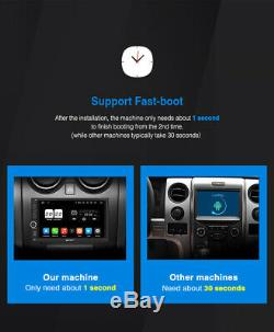 Pumpkin Android 9.0 Double DIN Car Stereo DAB SAT NAV Bluetooth SWC USB OBD WiFi