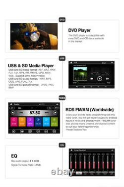 Pumpkin Double DIN 6.2 Car Stereo Sat Nav GPS CD DVD Player Radio Bluetooth USB